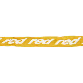 Red Cycling Products Secure Chain Zapięcie rowerowe resettable żółty